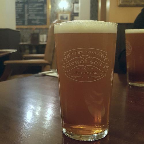 Nicholson's Pale Ale @ The Mitre, Cambridge UK