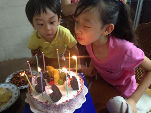 Gahyun's 8th birthday