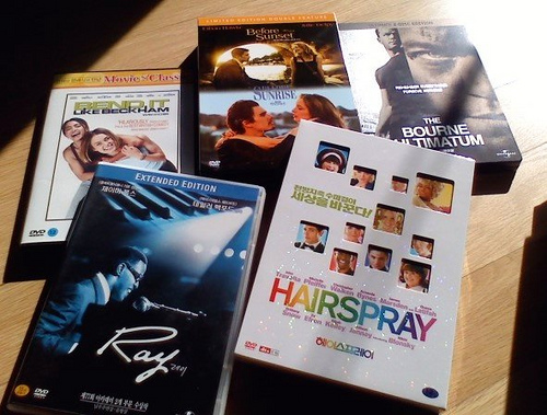 DVDs for vacation