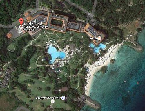 Mactan Shangrila Resort - Google Map