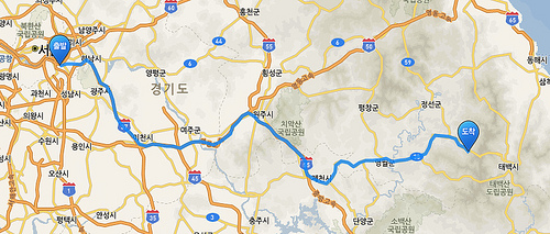 Way to Gangwon Land