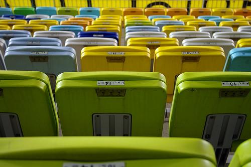 Colorful Big Bird, The Suwon Worldcup Stadium