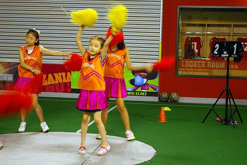 Cheerleading @ Kidzania