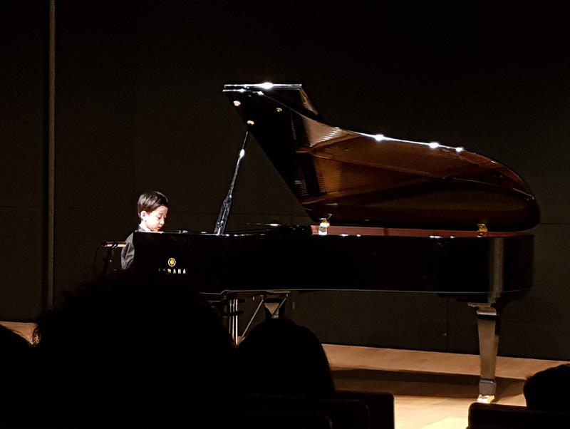 2017년 12월 학원 음악회
