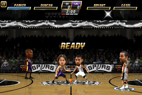 iPhone NBA Jam Screen Shot