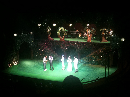 Two gentlemen of Verona, a music play