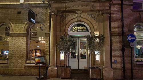 Jamie's Italian @ Cambridge, UK