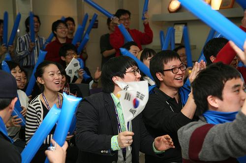 Cheering for WBC Team Korea at Yahoo!