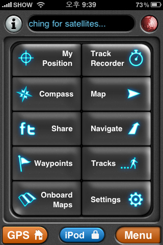 Motion-X GPS Lite for iPhone
