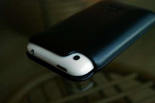 Casemate signature leather iphone case