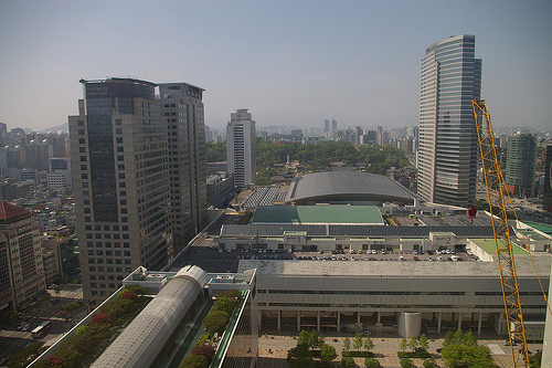 Grand InterContinental, Seoul, May 2013