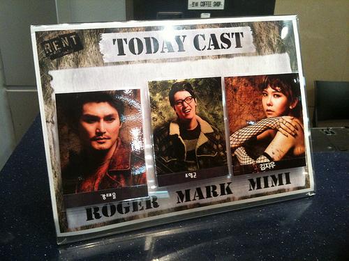Musical Rent Casts