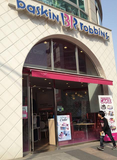 At Baskin Robbins, Songdo