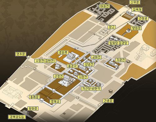 Gyeongbok Palace Map