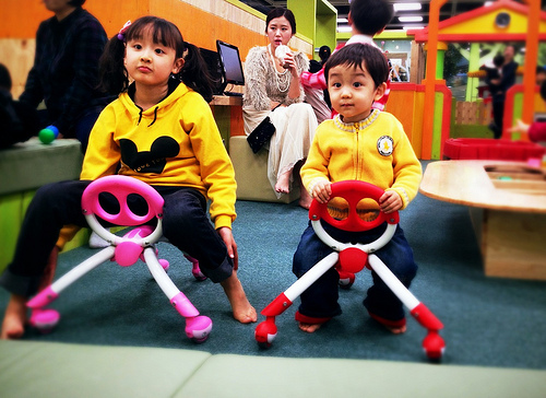 Kids' Cafe 상상노리 in Homeplus, Jamsil