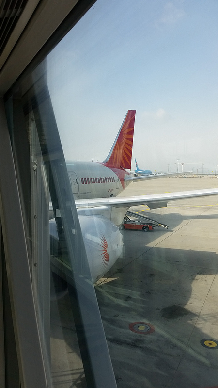 Biz trip to India: Air India