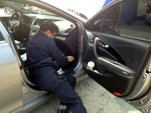 Hyundai Motors Before Service