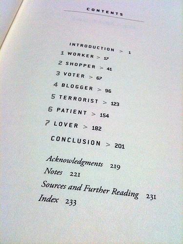 The Numerati contents