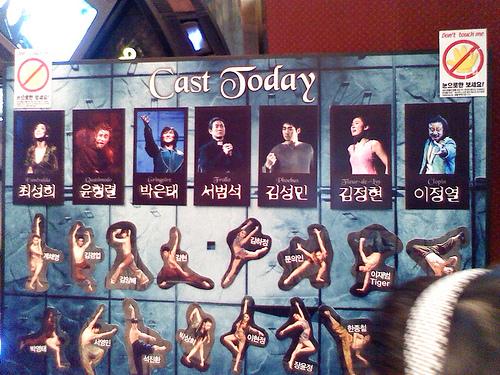 Casts for Musical Notre dame de Paris