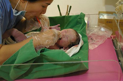 My son born