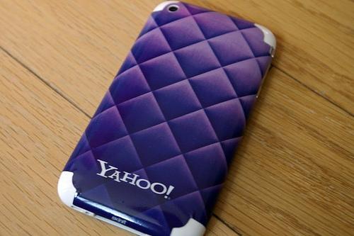 Y! iphone skin