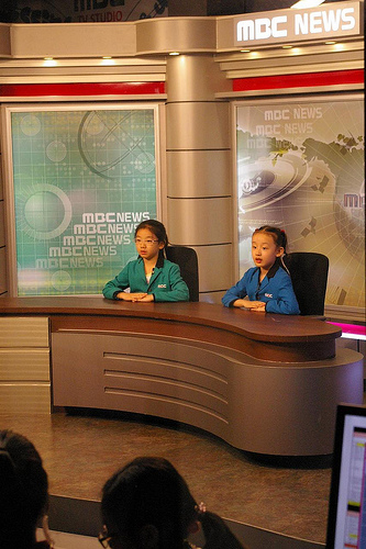 MBC TV Studio @ Kidzania