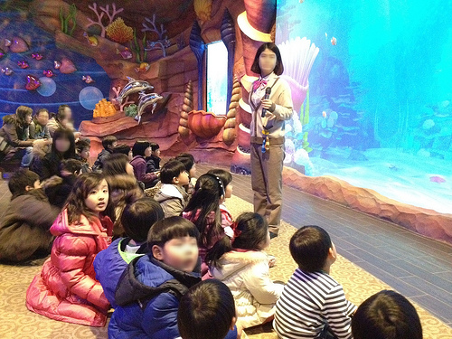 Veluga, a new attraction from Lotte World Adventure