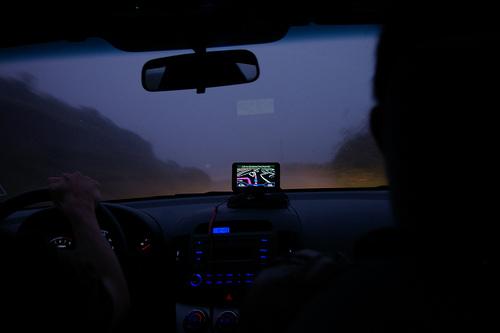 A drive thru San Francisco
